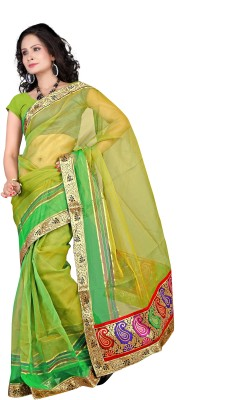 Florence Self Design Fashion Tissue Sari