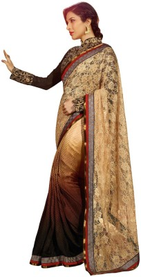 Aarti Saree Embriodered Fashion Jacquard Sari