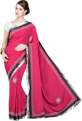 Kohana Embellished Fashion Handloom Satin Sari