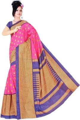 Ninaam Printed Bollywood Cotton, Silk Sari