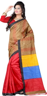 Indian E Fashion Printed Bhagalpuri Cotton Sari