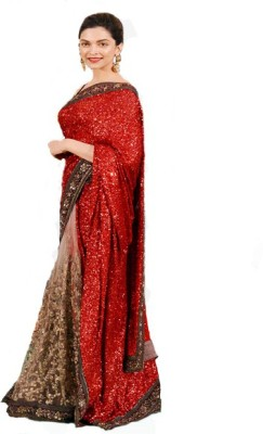 Sapphire Embriodered Fashion Georgette Sari