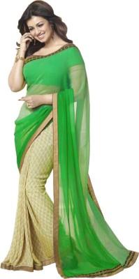 Festive Self Design Bollywood Georgette Sari