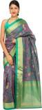 Ashika Self Design Fashion Raw Silk Sare...