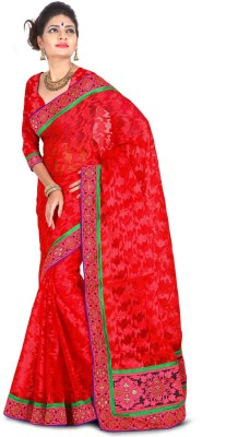 Dream Saree Embriodered Fashion Net Sari