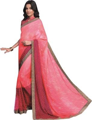 Laxmipati Printed Bollywood Handloom Pure Chiffon Sari