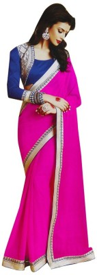 Asha Fashion Embriodered Bollywood Georgette Sari