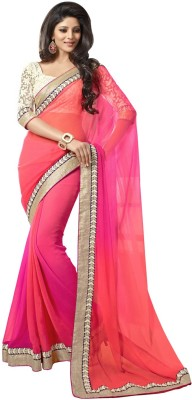 Supriya Fashion Printed Bollywood Georgette Sari