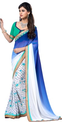 Jambudi Creation Printed Fashion Georgette Sari