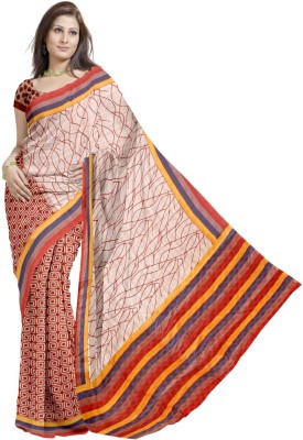 Glitters Printed Fashion Jute Sari