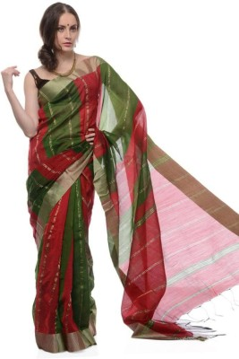 Samayra Woven Phulia Handloom Silk Sari