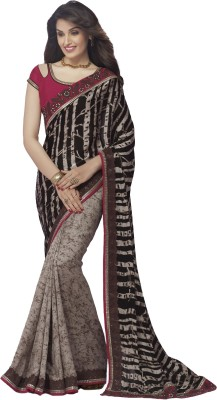 Vivacity Printed Bollywood Pure Georgette Sari
