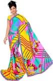 Pure Silk Self Design Bollywood Georgett...