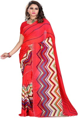 Avtrendz Printed Fashion Georgette Sari