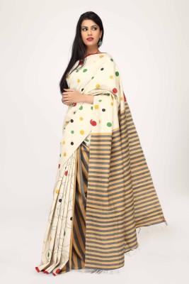 Sujatra Embriodered Fashion Silk Sari