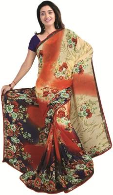 Shivam Fashions Printed Daily Wear Georgette Sari