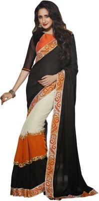 Saree Exotica Self Design Fashion Crepe Sari