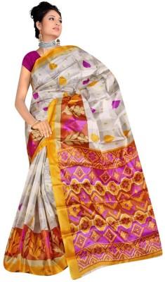 Shristy Fashion Printed Assam Silk Art Silk Sari