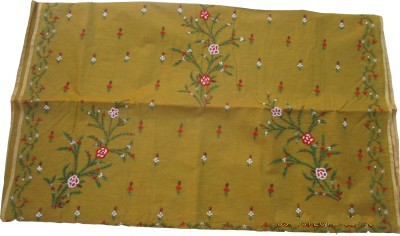 Lakshmi Chikon Enterprise Self Design Kantha Cotton Sari