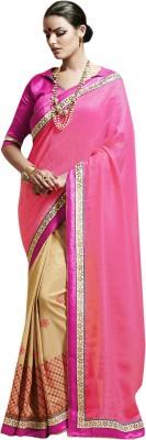 Baawli fashions Embriodered Bhagalpuri Dupion Silk Sari
