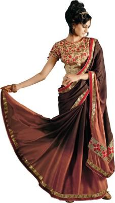Triveni Self Design Fashion Satin Sari