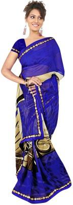 Janya Self Design Tant Georgette Sari