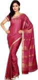 HASTHAKALA Self Design Mysore Pure Crepe...