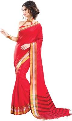 Ishin Printed Fashion Cotton Sari