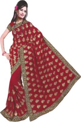 Vaishnavi Saare Embriodered Bollywood Georgette Sari