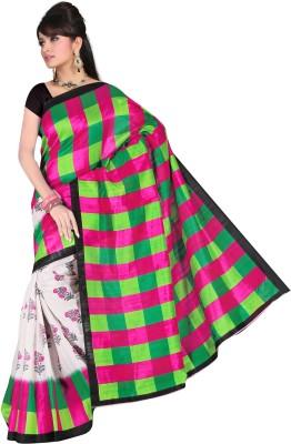 Shree Ambey Designer Sarees Printed Bhagalpuri Art Silk Sari