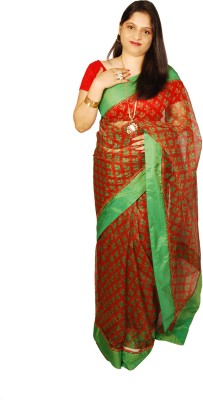 Shwapparels Printed Fashion Net Sari