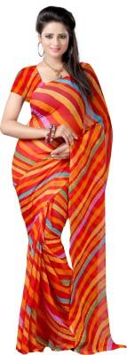 Aaditri Striped Daily Wear Chiffon Sari