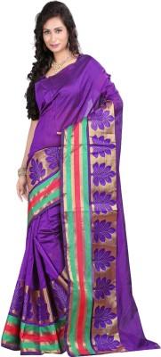 Sanju Sarees Self Design Fashion Banarasi Silk Sari