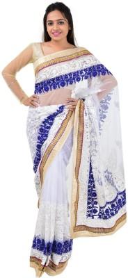 Shree Sai NX Plain Fashion Net Sari