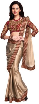 Lovit Self Design Bollywood Georgette Sari