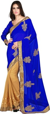 Velli Embriodered Fashion Chiffon Sari
