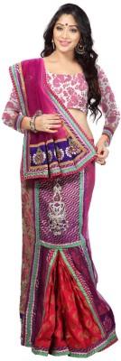 Sayonafashion Embriodered Bhagalpuri Net Sari