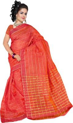 Richa Checkered Fashion Kota Cotton Sari