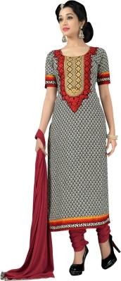 Saree Exotica Cotton Printed Salwar Suit Dupatta Material