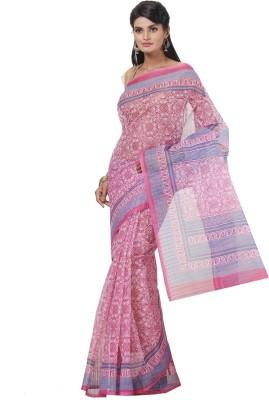 Cutie Pie Printed Fashion Handloom Cotton Sari