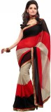 KTMHEA Self Design Fashion Chiffon Sari ...