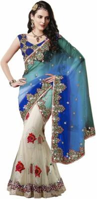 Ujjwal Creation Embriodered Fashion Net Sari