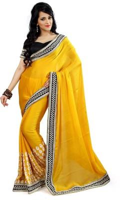 Ganga Silk Embriodered Bollywood Satin Sari