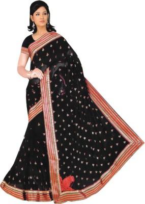 Gulmohar Boutique Self Design Fashion Chiffon Sari