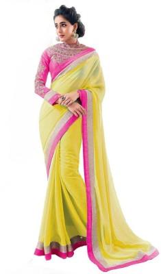 Shreet fashion Self Design Fashion Chiffon Sari