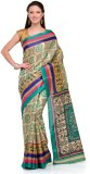 Cenizas Printed Fashion Art Silk Saree (...