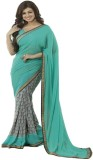 Festive Printed Bollywood Georgette Sare...