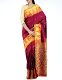 Unnati Silks Embellished Kanjivaram Hand...