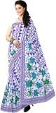 Abida Floral Print Fashion Cotton Sari