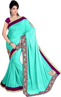 Deepanjali Prints Embriodered Bollywood Georgette Sari